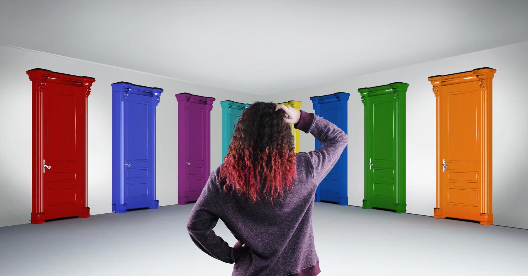 Sett Farge På Døren Din
